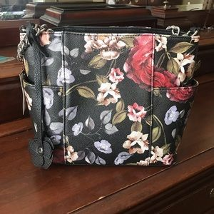 Dana Buchman floral Julia Handbag